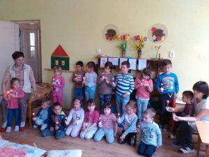 Mrcalgergelyi Vadvirág Óvoda gyermekei is énekeltek a Földért!