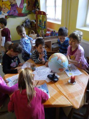 Földnapi megemlékezés a gyulai Németvárosi óvoda Törp csoportjában