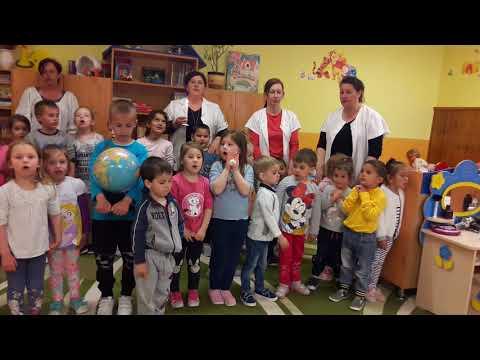 A Váncsodi Mesevilág Óvoda apraja- nagyja Énekelt a Földért 2019.04.17.